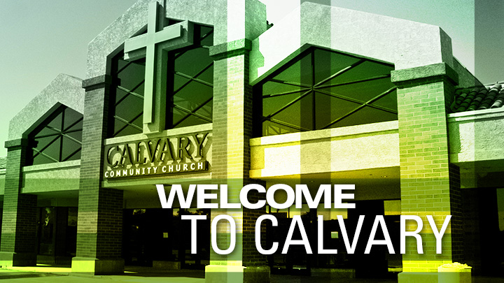 Welcome to Calvary