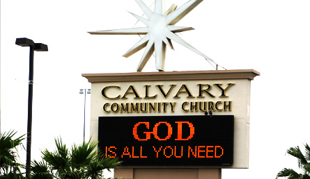 Calvary Community Church :: Phoenix, AZ :: Central Campus :: Welcome Sign